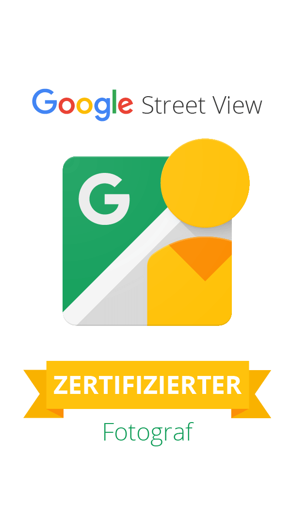 Google Street View Trusted Pro Badge TIP Badge Maps Business View Zertified Photograph